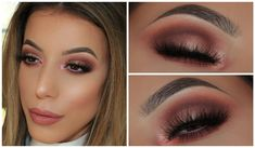 Spring Pinky Smokey Eyeshadow Look | Amys Makeup Box