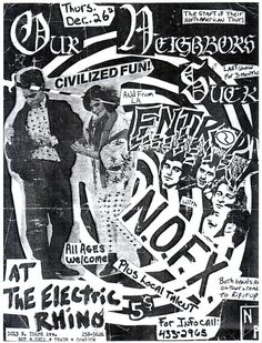 NOFX, Our Neighbors Suck, mid-'80s