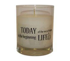 """Vela  aromática """"Today Life"""""""