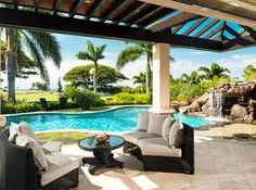 True Luxury In Hawaii Luxury Homes, Luxury Mansions, Backyard House, Luxury  Real Estate