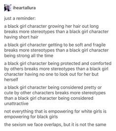 Good way to make sure you're not writing stereotypical characters<<<love the inclusion of how sexism has similarities but isnt the same bc ppl forget that its different for every group Book Writing Tips, Writing Help, Writing Ideas, Mbti, Guter Rat, Writing Promts, Writing Characters, Story Prompts, Writing Inspiration