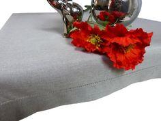 Gładki i popielaty #obrus z kolekcji #JAGNA jest doskonały na każdą okazję! Jego jedyną ozdobą jest #mereżka i #lamówka, dzięki czemu obrus zachwyca naturalnym pięknem! 130 x 180 cm #kolekcjaJAGNA #dekoracjastołu #galanteriastołowa Throw Pillows, Bags, Handbags, Toss Pillows, Cushions, Decorative Pillows, Decor Pillows, Scatter Cushions, Bag