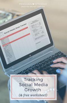 Tracking Social Media Growth (& Free Tracking Sheet)