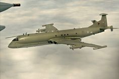 British Nimrod R1 - antisubmarine warfare - I saw one at the Manchester Airport in June 2012