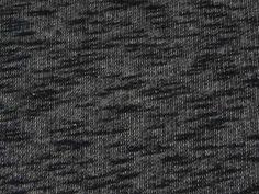 Tissu Molleton Anthracite Chiné Noir en vente sur TheSweetMercerie.com