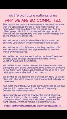 Mary Kay, reasons to join this wonderful company http://www.marykay.ca/smcneely