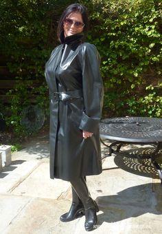 Do you like stunning brunettes in their hot Rubber Rainwear? Black Raincoat, Pvc Raincoat, Girls Wear, Women Wear, Stunning Brunette, Rubber Raincoats, Rain Suit, Rain Gear, Weather Wear