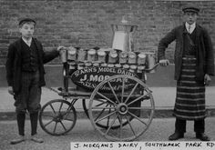 J Morgan's Dairy - Pictures of Bermondsey & Rotherhithe