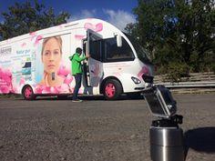 Der Lavera Promotionbus wird in Szene gesetzt. #lavera #rosenstockmotion