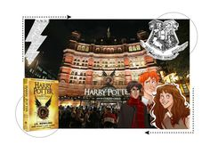 """""""Happy Bday Harry Potter and JK Rowling"""" by panenguin ❤ liked on Polyvore featuring art and harrypotter"""
