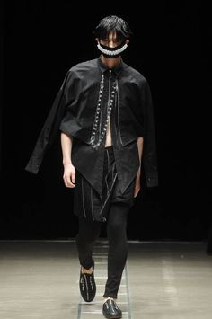 Male Fashion Trends: ACUOD by CHANU Spring-Summer 2017 - Tokyo Fashion Week http://spotpopfashion.com/d4av
