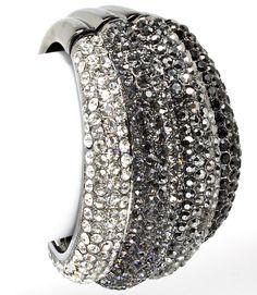 Black Crystal Costume Fashion Bracelet
