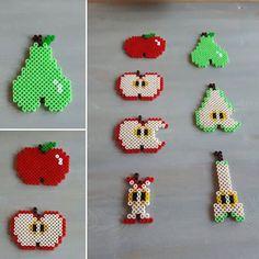 Fruits hama beads by  skoglundsiri