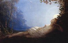 John Simmons  The sleep of Titania, 1