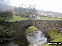 Bridge over The River Wharf at Yockenthwaite in The Yorkshire Dales, North Yorkshire, England by Andy Grimshaw Yorkshire Dales, North Yorkshire, British Country, Over The River, English Countryside, Country Life, Wales, Britain, Scotland