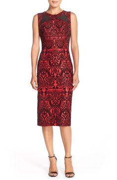 ECI Flecked Scuba Sheath Dress available at #Nordstrom