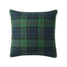 Black Watch Tartan Pillow