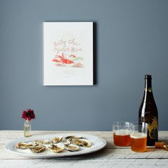 Check out this Vintage Menu Print from Provisions: https://food52.com/provisions/products/1195-vintage-menu-print-billy-the-oyster-man #Food52