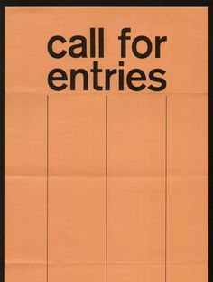 Call for Entries, Advertising and Editorial, Art Directors Club of Toronto