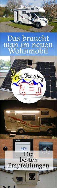Was wir unbedingt bei einem neuen Wohnmobil einbauen. 17 Empfehlungen von Womo.blog #Caravaning #Wohnmobil #Womo.blog #Tips #Einbau #Freistehen #Kamera #Gas #Sicherheit #DIY