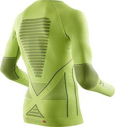 Energy Accumulator Evo Tee Men Lime/Charcoal X-Bionic : Hauts de Sous Vêtements Techniques : Snowleader