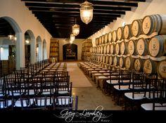 Molenvliet indoor wedding ceremony setup