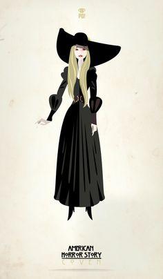 (Zoe Benson) Patricio Oliver - America Horror Story: Coven