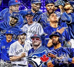 2016 Toronto Blue Jays-DrizzyCreative on IG-Tweets with replies by Jason Grilli (@GrillCheese49) | Twitter Devon Travis, Blue Jays World Series, Troy Tulowitzki, Russell Martin, Indians Game, Josh Donaldson, Babe Ruth, American League, Toronto Blue Jays