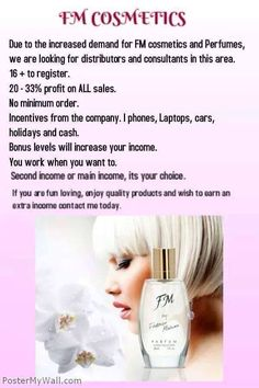 Join my team #homebusiness #fmcosmetics #seeyouatthetop
