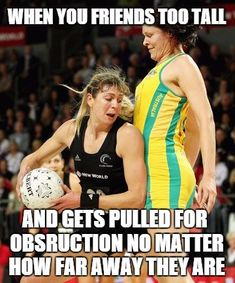 I don't think anyone knows how much this happens! Netball Quotes, Sport Quotes, Funny Relatable Memes, Funny Jokes, Great Inspirational Quotes, Team Pictures, Sports Memes, Girls Basketball, Volleyball