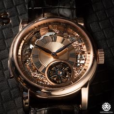 Now on WatchAnish.com - The new Roger Dubuis Hommage Minute Repeater Tourbillon Automatic.