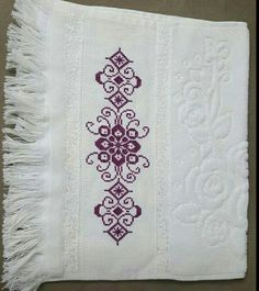 Bargello, 1940s, Cross Stitch, Cross Stitch Rose, Cross Stitch Embroidery, Embroidery Stitches, Embroidered T Shirts, Bern, Towels
