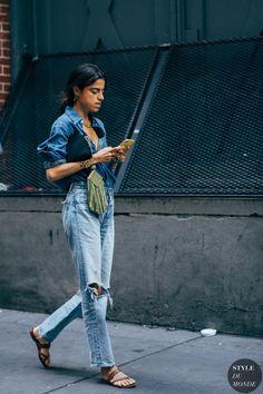 The Best Street Style at New York Fashion Week Spring 2020 Leandra Medine, Fashion Week, New York Fashion, Fashion Photo, Style Fashion, Tokyo Street Fashion, Streetwear, Street Chic, Looks Style