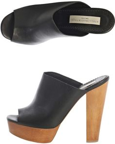 Stella Mccartney Harris Mule Shoes in Black