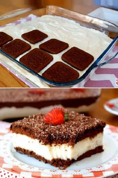 Toothy Görüm Dessert in 10 Minutes - Tatlı Tarifleri - Dessert Pasta Recipes, Snack Recipes, Dessert Recipes, Cooking Recipes, Snacks, Pasta Cake, Great Desserts, Cupcakes, Chocolate