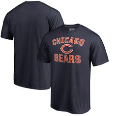 Men s NFL Pro Line by Fanatics Branded Navy Chicago Bears Victory Arch T- Shirt ac4c75e41