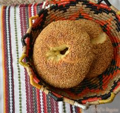 Ka3ek bel semsem or sesame bread is a traditional bread popular in the Levant countries (Palestine, Jordan, Syria, Lebanon). Many start their day buying one of these from bakeries or carts selling...