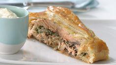 Salmon En Croute  #french #recipes