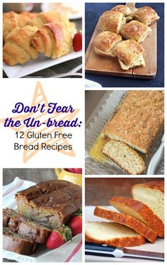 You're going to want to bake up a few of these homemade bread recipes for sure! Buying gluten free bread never works out, so just make your own!