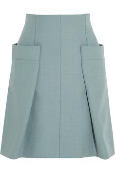 Chloé | Woven A-line skirt | NET-A-PORTER.COM