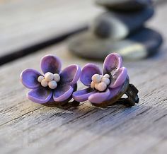 EarringTree / Vintage bloom