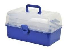 Shakespeare 3-Tier Cantilever Tackle Box only £12.99  #Shakespeare #WarringtonAnglingCentre  These cantilever tackle boxes come with a clear lid and either black or blue base. Both have part configurable compartments and carry handle available in a range of different size configurations.  * Clear lid with blue base * Partly configurable compartments