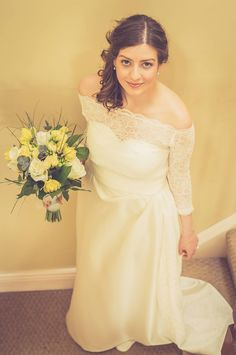 I absolutely love this bride!I have very good memories during the time I made this dress and I hope from the bottom of my heart she will have her happily ever after <3