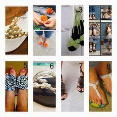 donneinpink magazine: 8 Idee fai da te per riciclare le infradito e creare nuovi sandali!