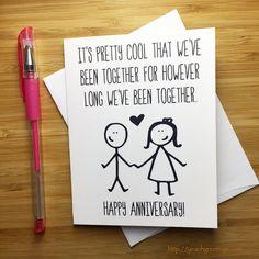 Happy Wedding Anniversary Quotes, Anniversary Quotes For Husband, Anniversary Cards For Him, Anniversary Pictures, Anniversary Gifts, Happy Anniversary Funny, 2nd Anniversary, Love Cards For Him, Funny Love Cards