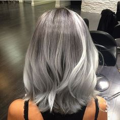 Silver Files Color by @stacyscrews #hair #hairenvy #hairstyles #haircolor…