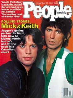 Mick Jagger - People Magazine [United States] (21 November 1977)