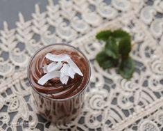 Crema de ciocolata (de post) - Desert De Casa - Maria Popa Dessert Recipes, Desserts, Pudding, Food, Cream, Tailgate Desserts, Deserts, Essen, Dessert
