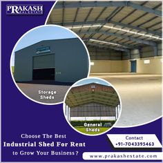 Looking for Industrial shed for rent near Ahmedabad? Get in touch with Prakash Estate, A top-notch real estate consultant that provides industrial sheds depending on your needs and budget. #IndustrialShedforRent #PropertyConsultant #PrakashEstate #Ahmedabad