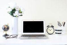 Laptop Scene styled stock photo by JennaRedfieldDesigns on @creativemarket